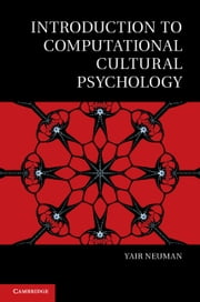 Introduction to Computational Cultural Psychology ebook by Yair Neuman