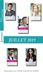 10 romans Blanche + 2 gratuits (n°1436 à 1440 - Juillet 2019) ebook by Collectif