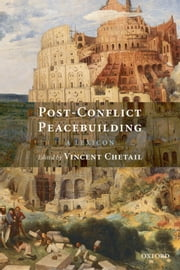 Post-Conflict Peacebuilding - A Lexicon ebook by
