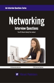 Networking Interview Questions You'll Most Likely Be Asked ebook by Vibrant Publishers