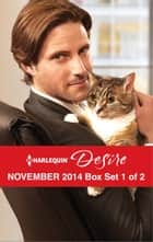 Harlequin Desire November 2014 - Box Set 1 of 2 - An Anthology 電子書籍 by Catherine Mann, Sarah M. Anderson, Jennifer Lewis