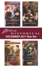 Love Inspired Historical December 2017 Box Set - His Frontier Christmas Family\Once Upon a Texas Christmas\The Gift of Twins\Would-Be Mistletoe Wife ebook by Regina Scott, Winnie Griggs, Gabrielle Meyer,...