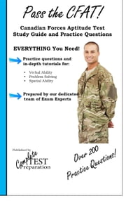 Pass the CFAT!  Complete Canadian Forces Aptitude Test Study Guide and Practice Test Questions ebook by Complete Test Preparation Inc.