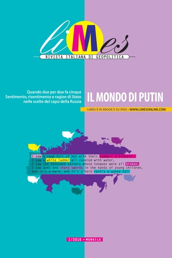 Limes - Il mondo di Putin ebook by Limes