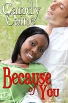 Because of You ebook by Candy Caine