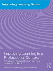 Improving Learning in a Professional Context - A Research Perspective on the New Teacher in School ebook by Jim McNally,Allan Blake