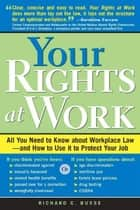 Your Rights At Work ebook by Busse, Richard