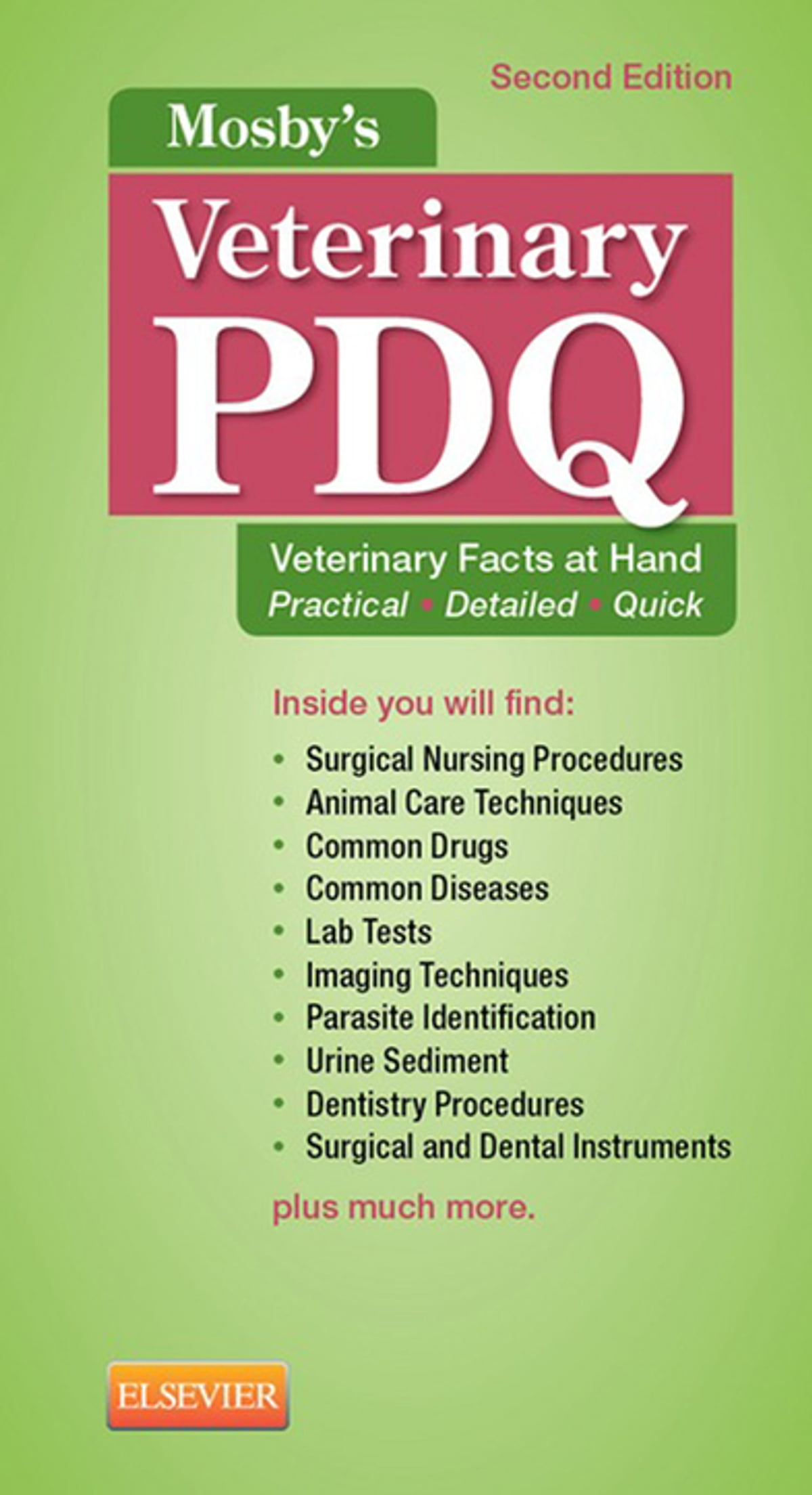 Mosby\'s Veterinary PDQ - E-Book eBook by Margi Sirois, EdD, MS, RVT ...