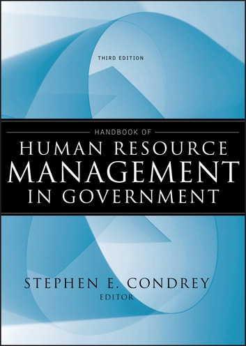 Handbook of Human Resource Management in Government ebook by
