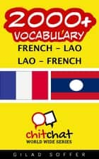 2000+ Vocabulary French - Lao ebook by Gilad Soffer