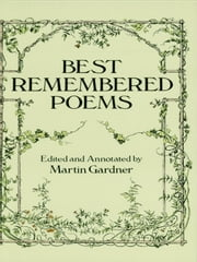 Best Remembered Poems ebook by Martin Gardner