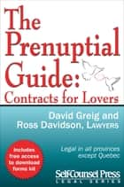 The Prenuptial Guide - Contracts for Lovers ebook by David Greig, Ross Davidson