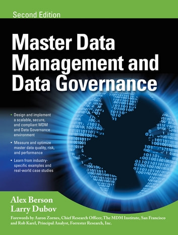 MASTER DATA MANAGEMENT AND DATA GOVERNANCE, 2/E ebook by Alex Berson,Larry Dubov