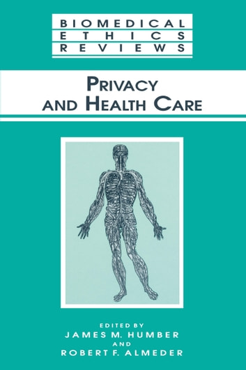 Privacy and Health Care ebook by