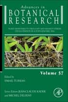 Plant Responses to Drought and Salinity stress ebook by Ismail Turkan