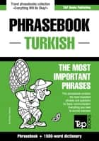English-Turkish phrasebook and 1500-word dictionary ebook by Andrey Taranov