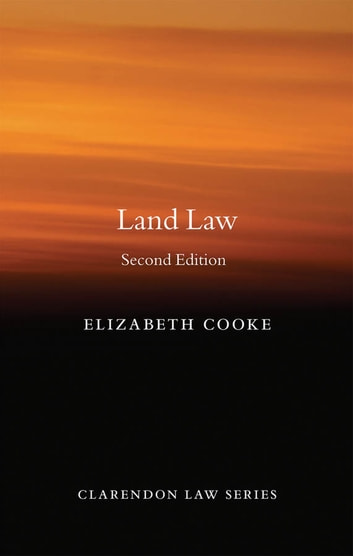 Land Law ebook by Elizabeth Cooke
