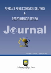 Africa's Public Service Delivery & Performance Review ebook by Ijeoma, Edwin