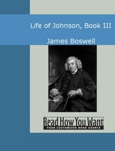 Life Of Johnson Book III ebook by James Boswell