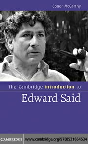 The Cambridge Introduction to Edward Said ebook by McCarthy, Conor