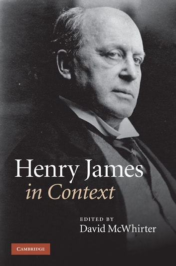 Henry James in Context ebook by