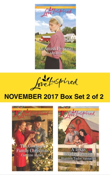 Harlequin Love Inspired November 2017 - Box Set 2 of 2 - An Anthology ebook by Jo Ann Brown,Carolyne Aarsen,Shannon Taylor Vannatter