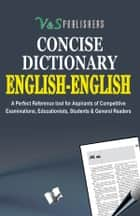 English - English Dictionary ebook by EDITORIAL BOARD