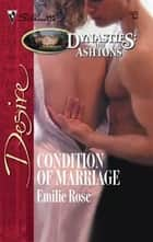Condition of Marriage ebook by Emilie Rose