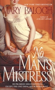 No Man's Mistress ebook by Mary Balogh