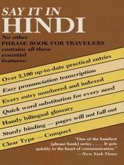 Say It in Hindi ebook by Dover