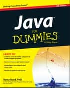 Java For Dummies ebook by Barry A. Burd