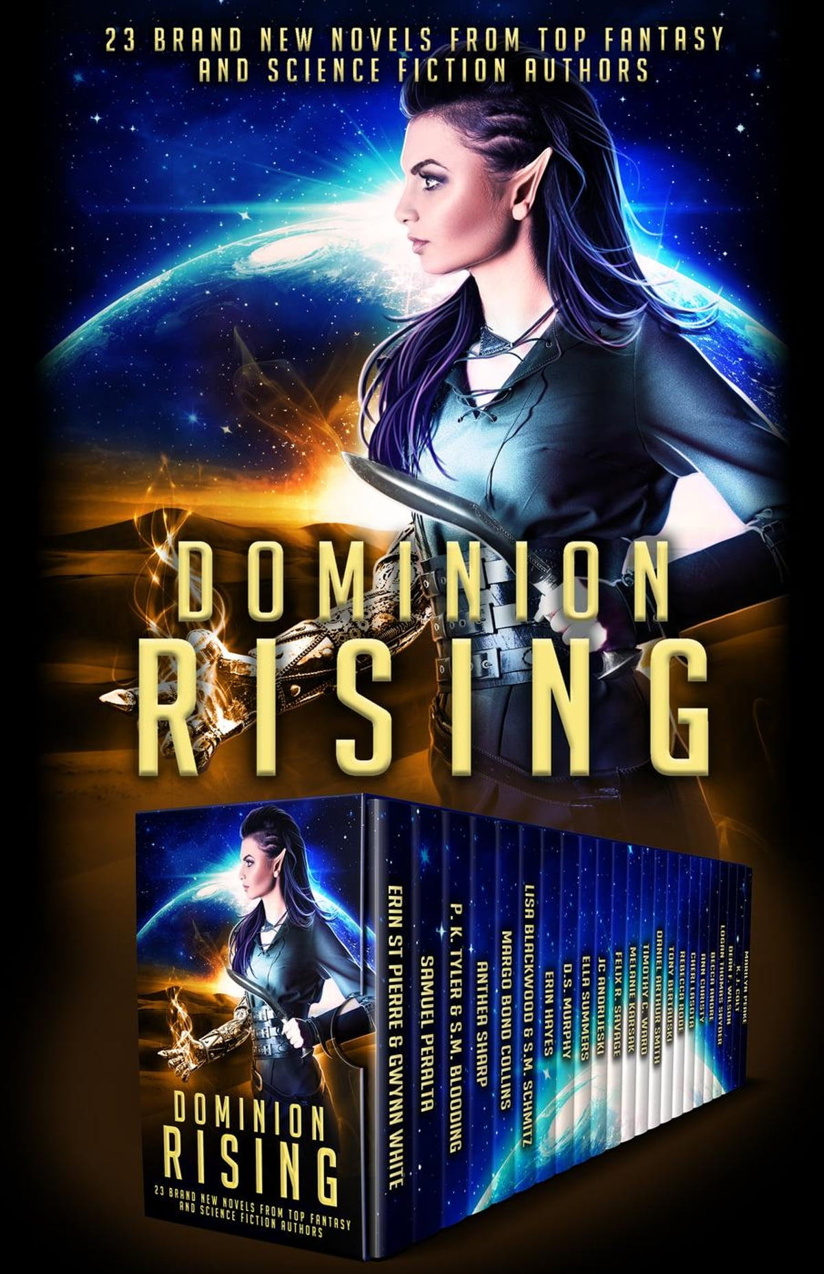 Dominion Rising: 23 Brand New Novels From Top Fantasy And Science Fiction  Authors Ebook By