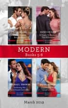 Modern Box Set 5-8 ebook by Maya Blake, Dani Collins, Rachael Thomas,...