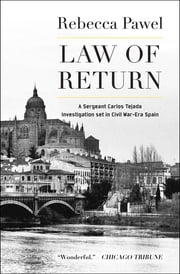 Law of Return ebook by Rebecca Pawel