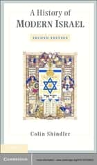 A History of Modern Israel ebook by Colin Shindler