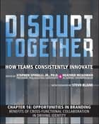 Opportunities in Branding - Benefits of Cross-Functional Collaboration in Driving Identity (Chapter 16 from Disrupt Together) ebook by Stephen Spinelli Jr., Heather McGowan