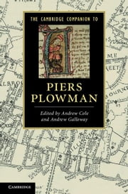 The Cambridge Companion to Piers Plowman ebook by Cole, Andrew