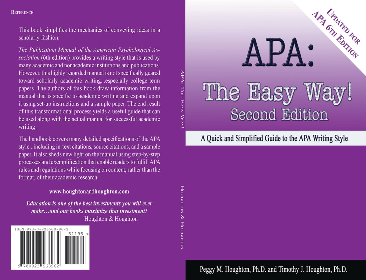 Cite A Website (for Apa 6th Edition) Ebook By Peggy M Houghton  1230000227168 Kobo