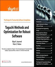 Taguchi Methods and Optimization for Robust Software (Digital Short Cut) ebook by Bijay K. Jayaswal,Peter C. Patton