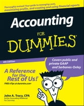 Accounting For Dummies ebook by John A. Tracy