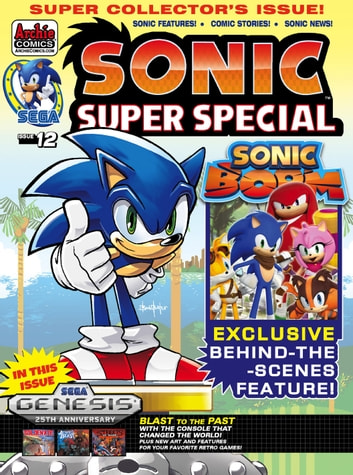 Sonic Super Special Magazine #12 ebook by Sonic Scribes