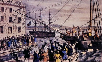 American Legends: The Boston Tea Party eBook by Charles River Editors