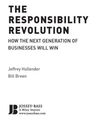 The Responsibility Revolution - How the Next Generation of Businesses Will Win ebook by Jeffrey Hollender,Bill Breen,Peter Senge