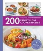 Hamlyn All Colour Cookery: 200 Family Slow Cooker Recipes - Hamlyn All Colour Cookbook ebook by Sara Lewis