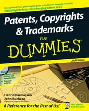 Patents, Copyrights and Trademarks For Dummies ebook by Kobo.Web.Store.Products.Fields.ContributorFieldViewModel