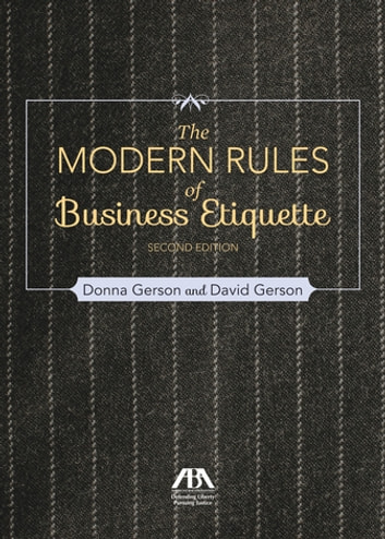 Modern rules of business etiquette ebook by david gerson modern rules of business etiquette ebook by david gersondonna gerson fandeluxe Images