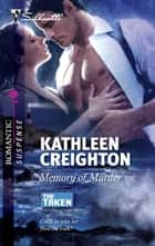 Memory of Murder ebook by Kathleen Creighton