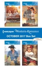 Harlequin Western Romance October 2017 Box Set - Twins on the Doorstep\Stealing the Cowboy's Heart\Marrying the Rancher\A Baby for the Sheriff ebook by Marie Ferrarella, Debbi Rawlins, Roz Denny Fox,...