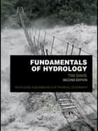 Fundamentals of Hydrology ebook by Tim Davie