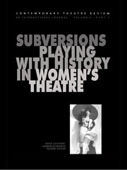 Subversions ebook by Erika Block,Gabriele Griffin,Julie Wilkinson